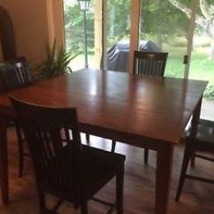 Wooden Kitchen Tables Makeover Solid Wood Table With Chairs Kijiji In Ottawa Buy Sell