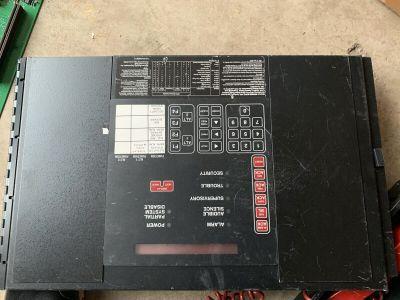 Siemens Cerberus Pyrotronics MKB-2 Fire Alarm Control Panel Annunciator