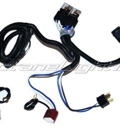 2 headlight relay harness for halogen h4 bulbs [ 1600 x 1200 Pixel ]