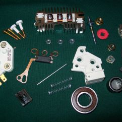 Gm 10si Alternator Wiring Diagram Westinghouse Electric Oven Delco 1 Wire Self Excited Regulator