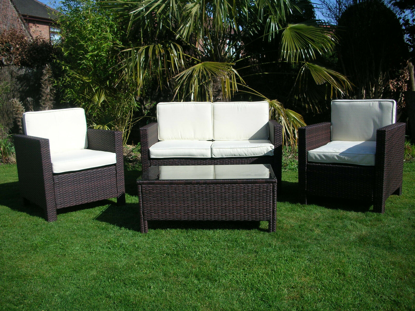 rattan or wicker chairs chair exercise groups new garden outdoor conservatory furniture