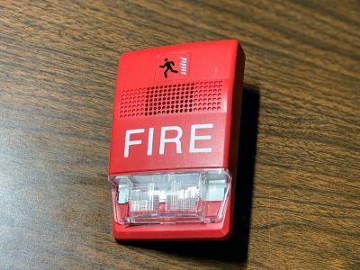 EST Edwards G1RF-HDVM Fire Alarm Genesis Horn/Strobe Wall Red