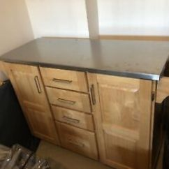 Kitchen Prep Station Wall Cabinets Kijiji In Ontario Buy Sell Save With Outdoor Backyard Expandable