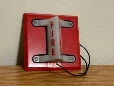 Wheelock Federal Signal WS-24VDC VALS Fire Alarm Remote Strobe