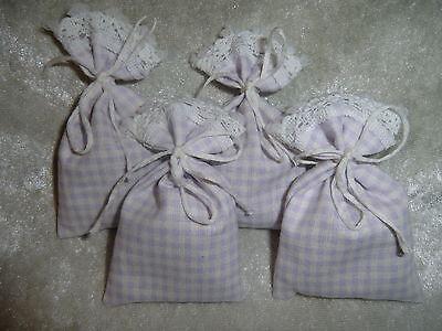 4 Zedernholz - Säckchen Wäscheduft