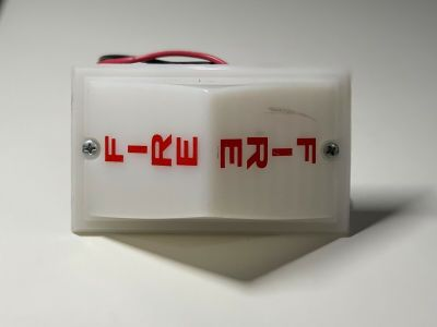 *Vintage* *Rare* Simplex 2904-9101 Fire Alarm Remote Light White 24 VDC