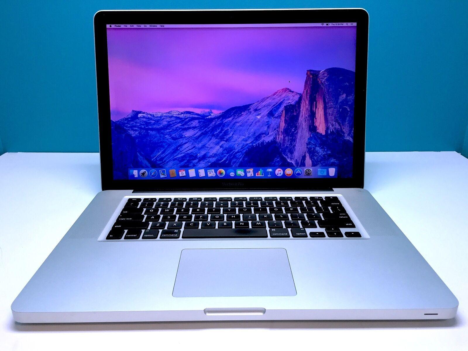 Macbook Pro Apple Laptop Core I5 2.4ghz 8gb 1tb