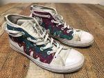 Custom Converse All Star Cake Doughnut Shoes Men's 9 Women's 11