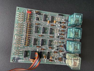 Honeywell 14501990-001 Control Board F&S Command (MRU) W1020 DeltaNet FS90