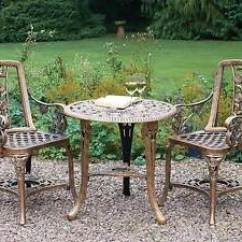 Bistro Tables And Chairs Prospera Massage Chair Table Set Ebay Patio Garden Furniture Outdoor Vintage Style Bronze