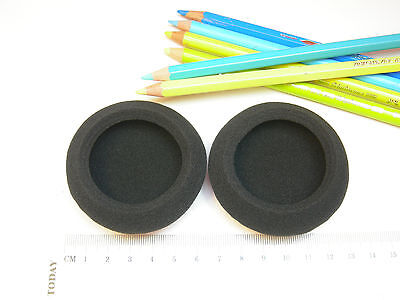 Ohrkissen Ohrpolster Schaumstoff 65 mm für Kopfhörer zB Sony MDR-201, MDR-301