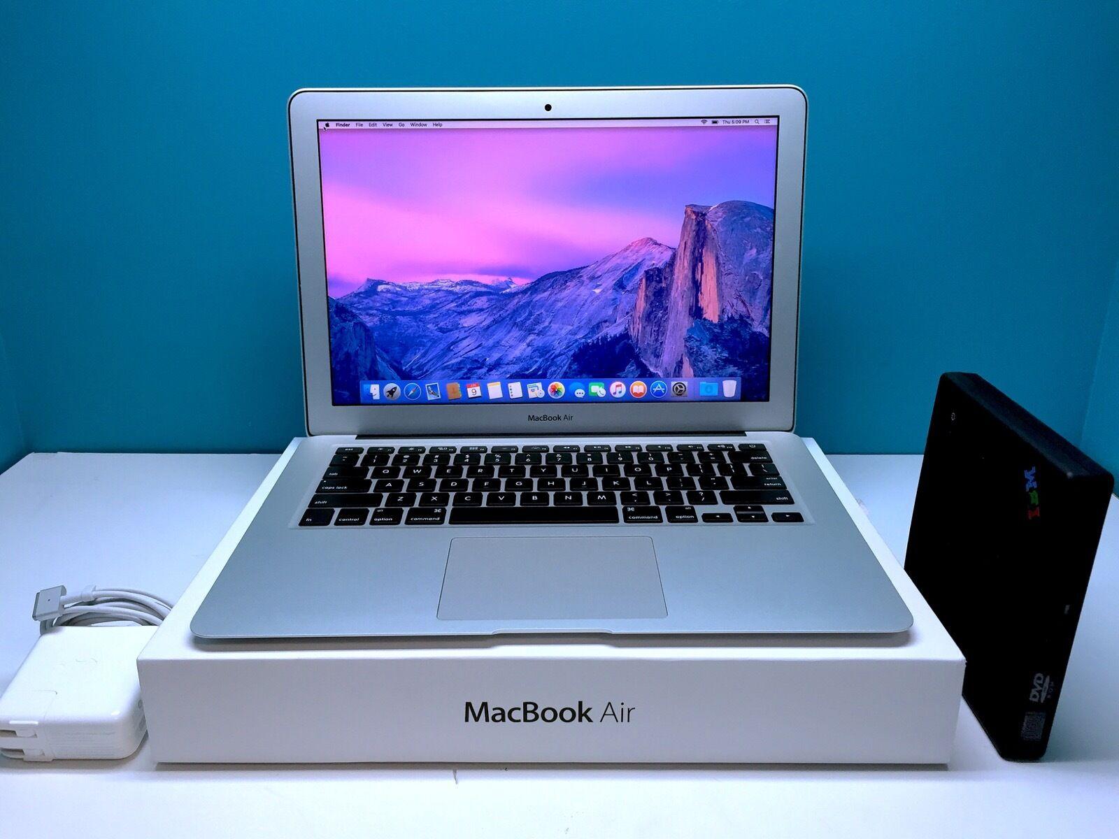 Apple Macbook Air 13 Laptop Upgraded 256gb Ssd Osx