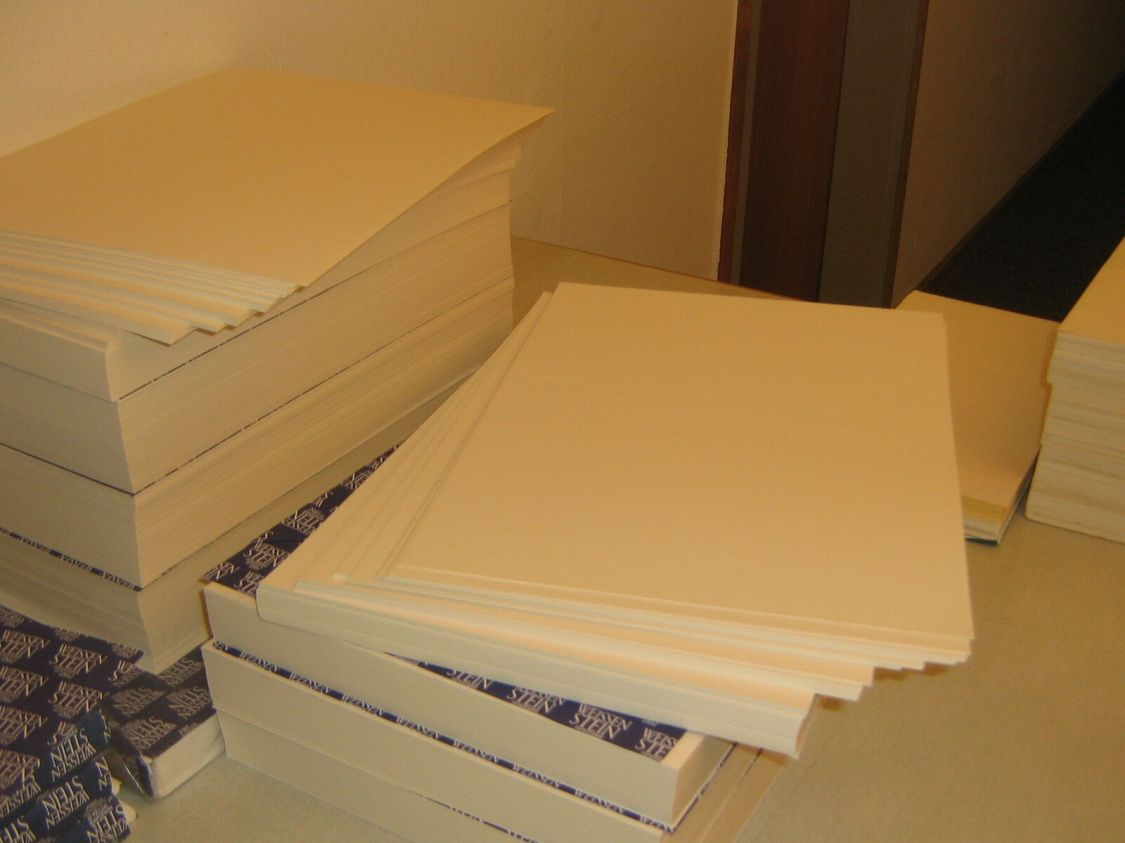 100 Blatt Studien-Aquarellpapier180 g/qm matte Struktur A4 Säurefrei weiss