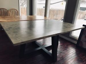 kitchen dining tables corner cabinets for sofa buy or sell table sets in edmonton kijiji classifieds solid wood made to order and benches