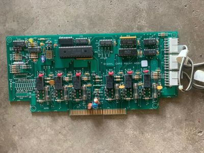 Simplex 565-009 (Rev H) Fire Alarm Signal Card Relay Assembly 4100 FACP