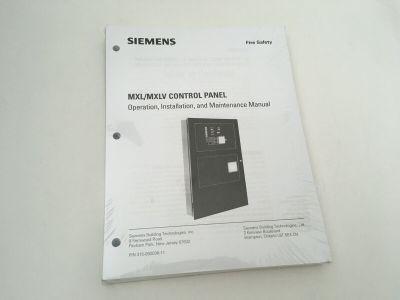 *NIB* *New* Siemens Cerberus Pyrotronics MXL/MXLV Fire Alarm Control Manual