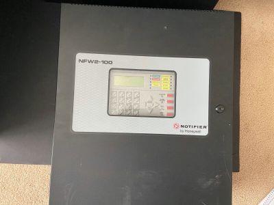 Notifier NFW2-100 FireWarden-100-2 Fire Alarm Control Panel