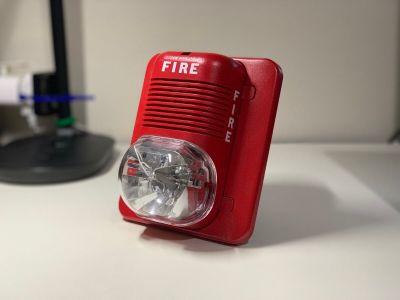 System Sensor P1224MC SpectrAlert Fire Alarm Horn/Strobe