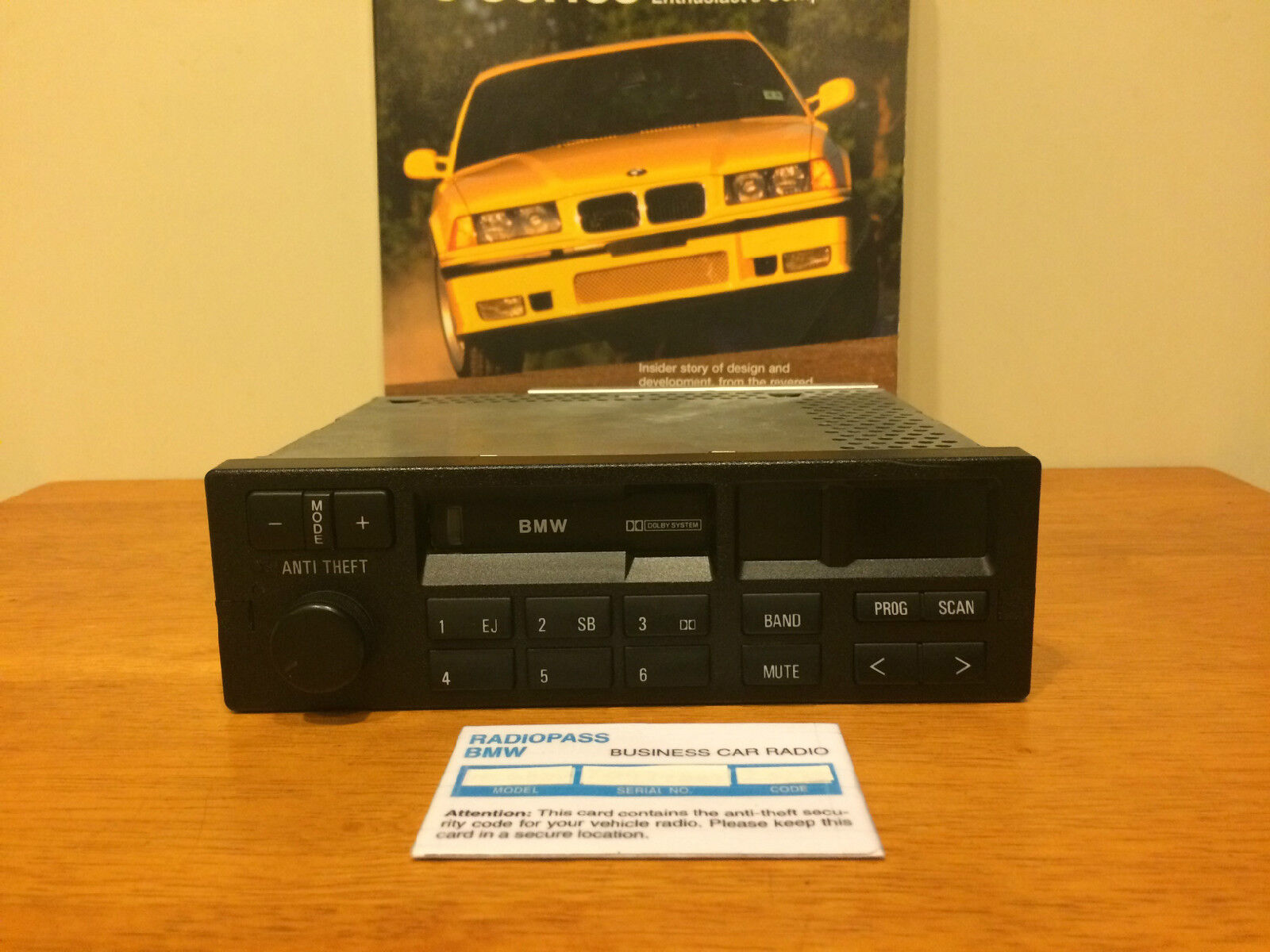 BMW CM5903L RADIO STEREO E31 E32 E34 E36 318 325 M3 M5 525