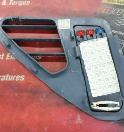 1995 1999 oldsmobile aurora oem fuse box lid cover blue in color and in decent shape removed from a 1997 oldsmobile aurora check your part number and  [ 1600 x 1200 Pixel ]