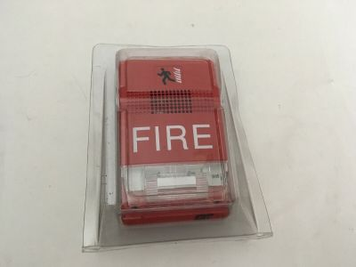 *NIB* *New* EST Edwards G1RF-HOV75 Fire Alarm Temporal Horn/Strobe Wall Red