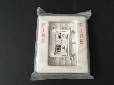 *NIB* *New* EST Edwards G1T-Fire Fire Alarm Genesis Trim Plate White