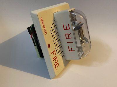 Wheelock ET70-241575W Fire Alarm Speaker/Strobe White Ceiling Mount