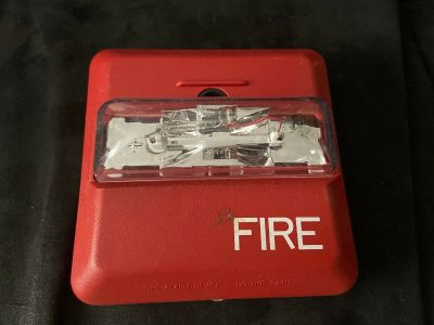 Wheelock ZNS-MCW Fire Alarm Horn/Strobe Wall Red