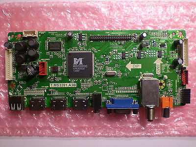 Main Board T.MS3391.A3B Proscan, RCA, Curtis TV Television NEW **READ!!**