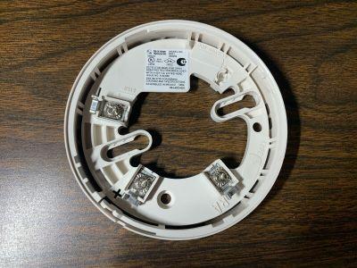 System Sensor B501 Fire Alarm Smoke Heat Detector Base