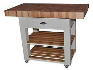 kitchen workbench american plastic toys custom island ebay trolleys