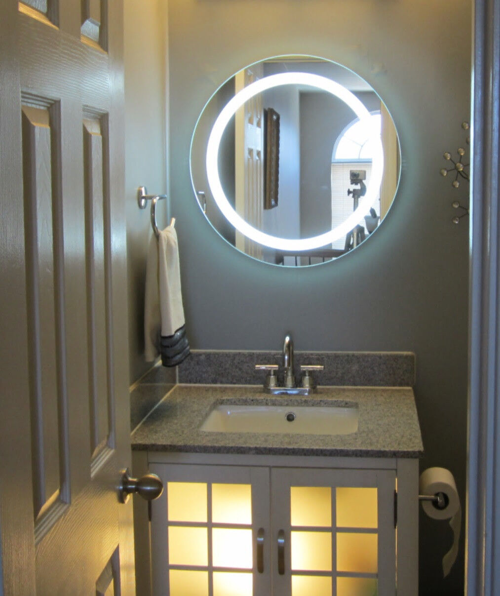 """Lighted Vanity Mirrors Make- Wall Mounted 24"""""""