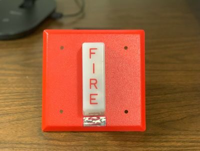 *New* *Vintage* Honeywell Wheelock SC807B1001 Fire Alarm Remote Strobe Red
