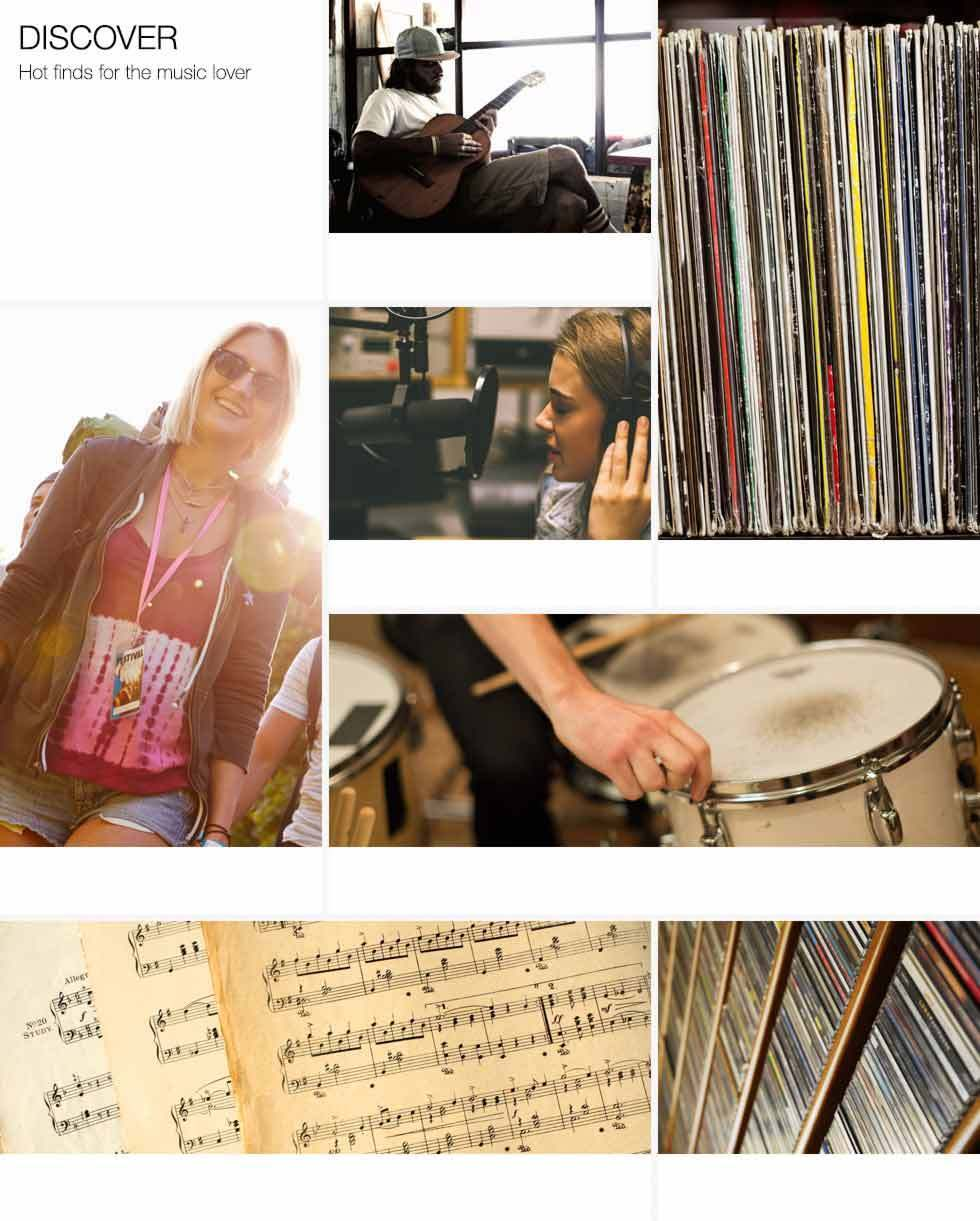 Discover hot finds for the music lover