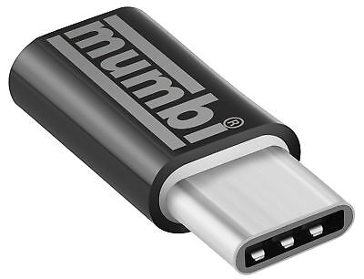 mumbi USB Adapter 3.1 Typ C Stecker auf Micro USB Buchse schwarz USB C Adapter