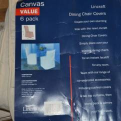 Chair Covers Lincraft Wire Dining Chairs Uk Canvas 6 Pack Other Home Decor Gumtree Australia Brisbane North West Ashgrove 1196300404