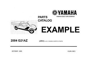 Yamaha Golf Cart Repair Amp Service Manuals Owners Manuals