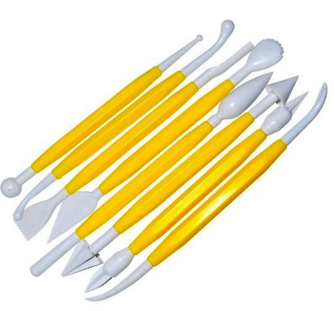 Modellierwerkzeug - 16 Werkzeuge - Modellier Tools Set - Fondant / Blüten-Paste
