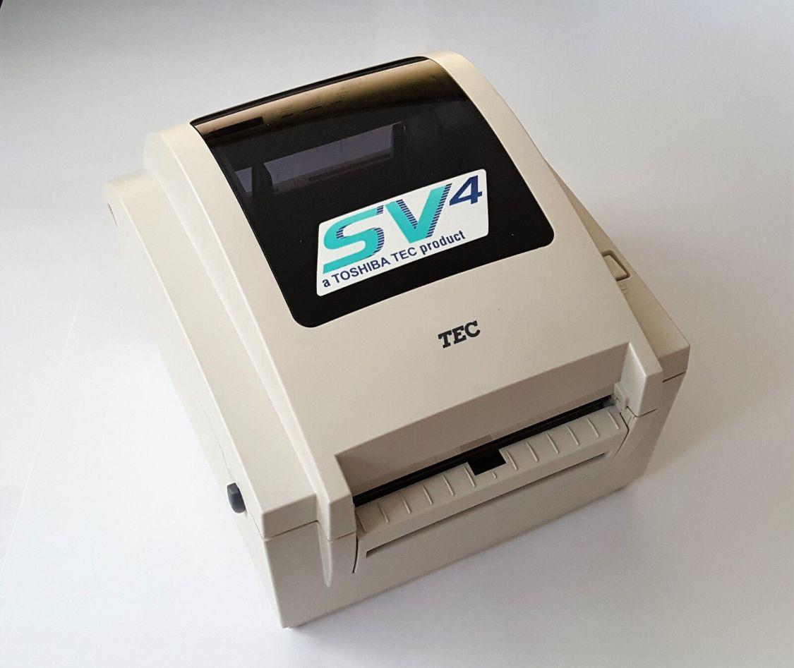 TOSHIBA TEC Label Printer B-SV4D Etikettendrucker Thermal USB - ohne Netzteil