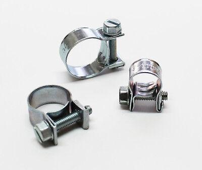 Schlauchschellen Spannbackenschellen Stahl W1 verzinkt für Benzinschlauch etc.