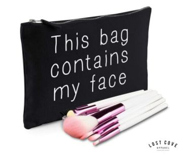 This-Bag-Contains-My-Face-Slogan-Makeup-Bag-Case-Make-Up-Gift-Clutch-Contents