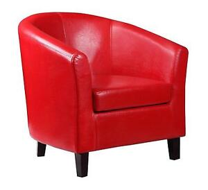 leather tub chair rent covers for wedding cheap chairs ebay faux
