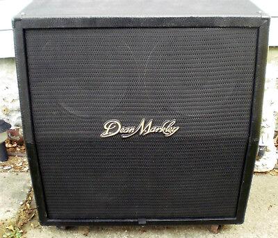 4X12 Celestion loaded Dean Markley angled cabinet Guitar speaker Sounds Great!