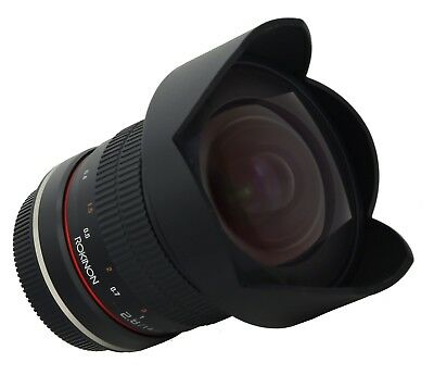 Rokinon 14mm F2.8 Wide Angle Lens for Canon EOS Digital SLR - FE14M-C