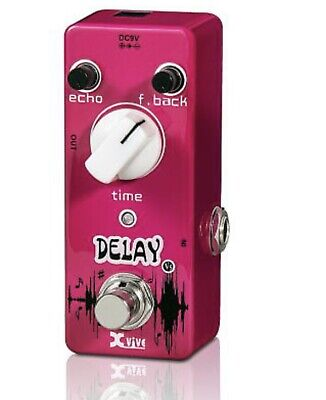 Xvive XV-V5 DELAY NEW Guitar Effects Pedal