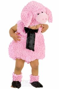 Princess Paradise Squiggly Piggy Animals Toddler Infant Halloween Costume 4627