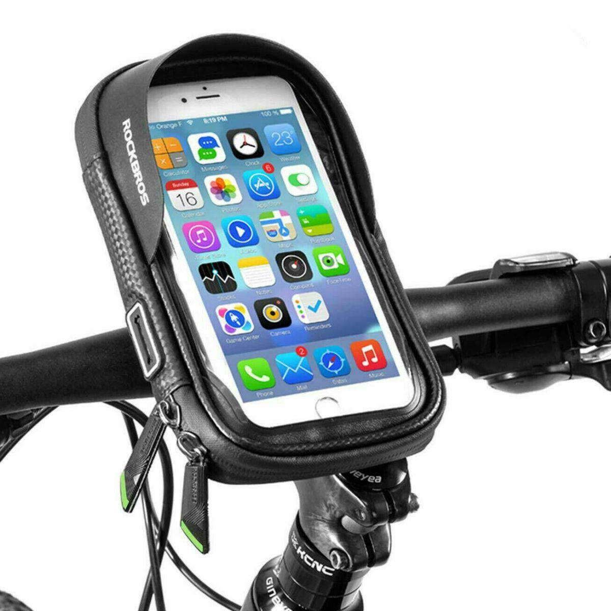 ROCKBROS Fahrrad Handyhalterung Rahmentasche für 6.00'' Handy Fahrradtasche DHL