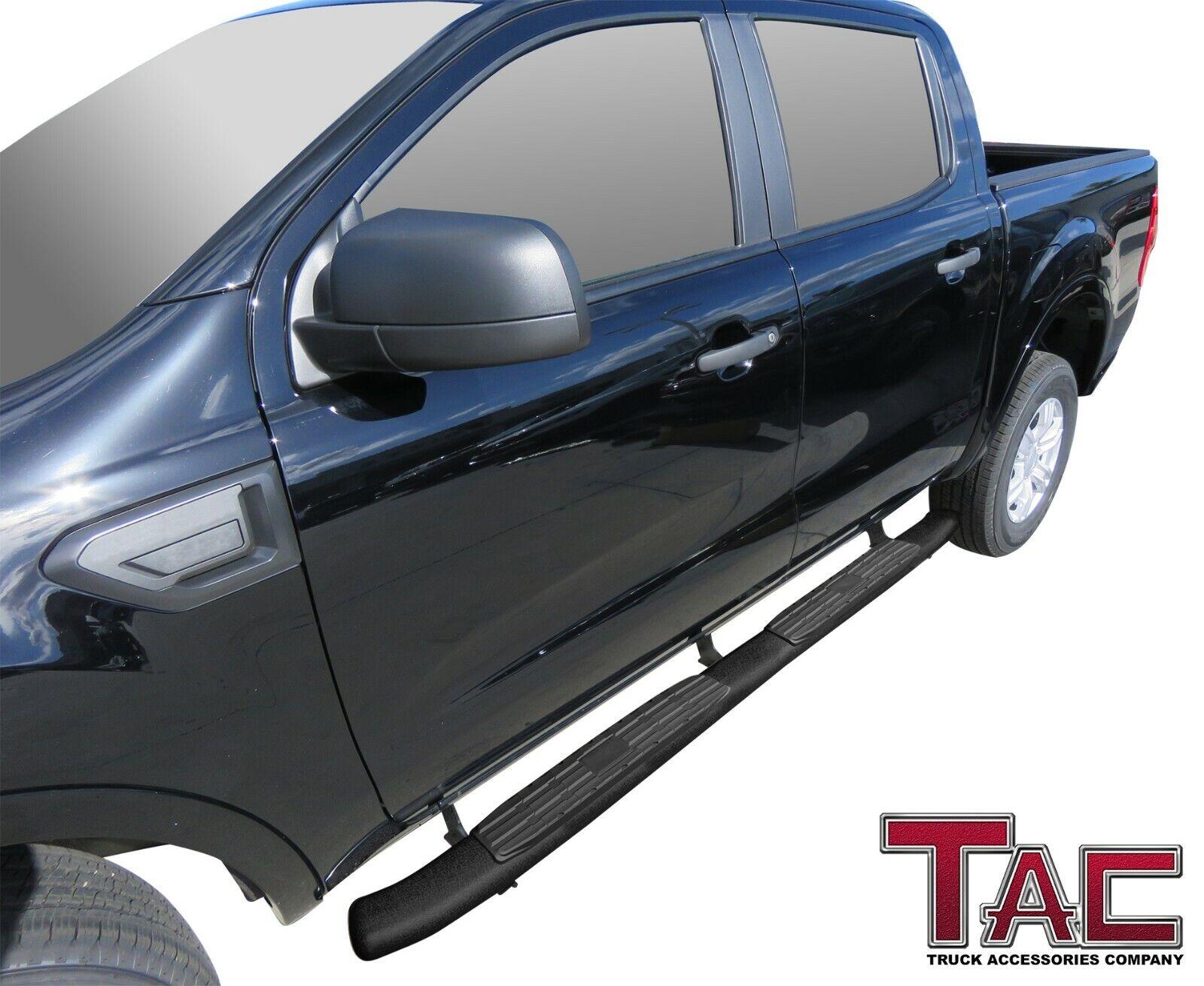 """2019 Ford Ranger Supercrew 4.25"""" Texture Side Steps"""