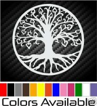 Tree OF Life Decal Wall Glass Window CAR VAN Motorcycle ...