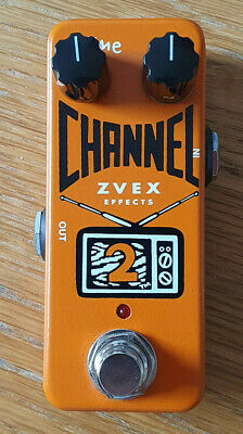 ZVEX Channel 2 Boost Pedal